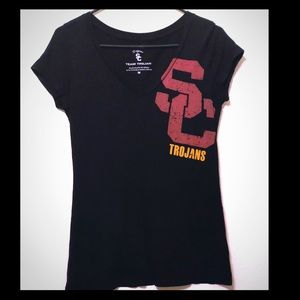 Tops - USC Trojans collegiate v-neck t-shirt
